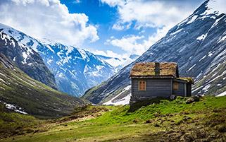 خانه روستایی،نروژ