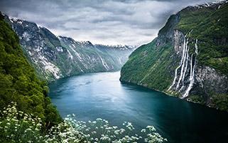 آبشار هفت خواهر،نروژ