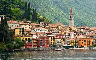 دریاچه کومو،ایتالیا