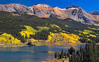 شروع پاییز،کوه های زرد،کلرادو