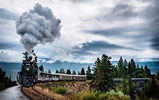 سفر با قطار، کانادا