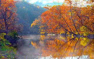 انعکاس رویا،پاییز،اوهایو