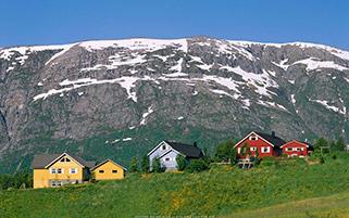 خانه های رنگی، نروژ