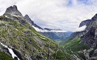 دره ای در نروژ