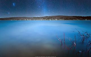 راه شیری،دریاچه ویلیام،کانادا