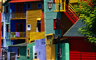 آپارتمان رنگارنگ، بوینس آیرس، آرژانتین