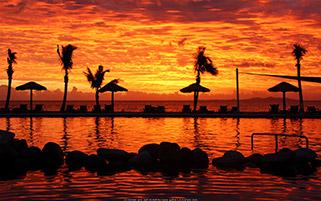غروب داغ فیجی
