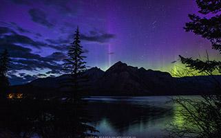 شفق قطبی،آلبرتا،کانادا