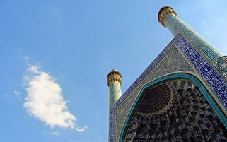 سر در مسجد شاه عباس،اصفهان