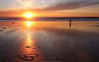 رسم عشق در ساحل