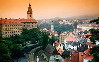 شهر کسکی کروملو، جمهوری چک