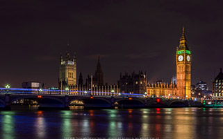 لندن در شب، انگلستان