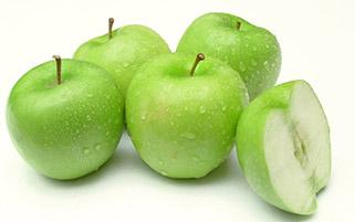 سیب های تازه ترش
