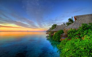 غروب،جزیره موری